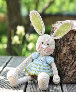 amigurumi frilly-pants bunny