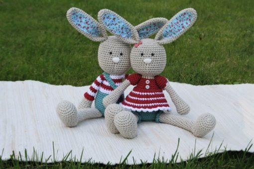 amigurumi bunny pattern