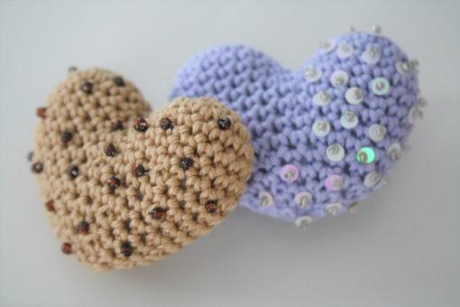 amigurumi heart pattern