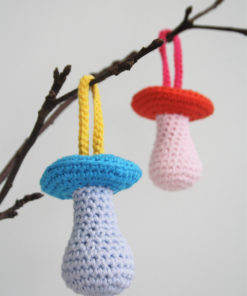 amigurumi pattern pacifier rattle