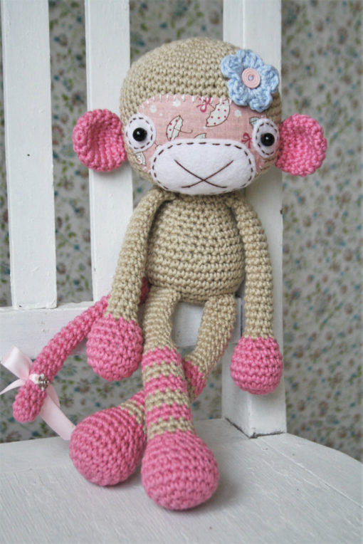 amigurumi monkey girl pattern