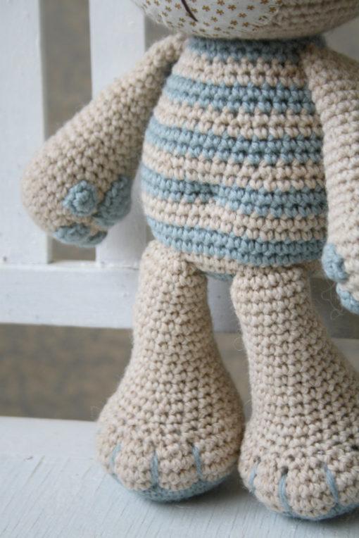 amigurumi pattern tummy teddy