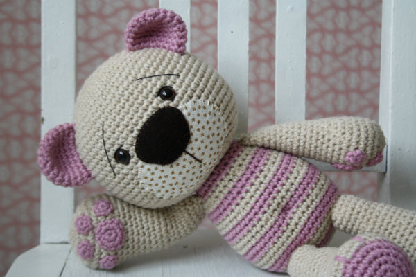 crochet amigurumi teddy bear pattern