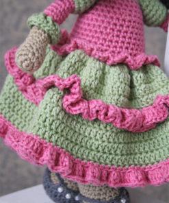 amigurumi pattern princess doll