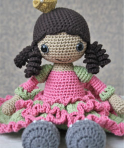 amigurumi princess doll pattern