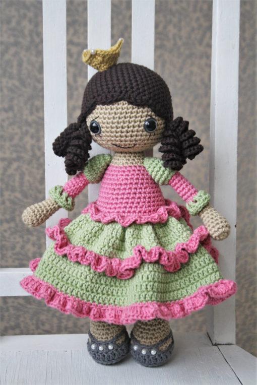 amigurumi princess doll pattern