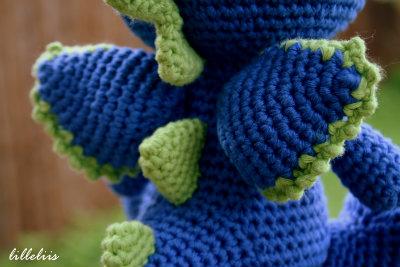 Drake the Dragon Amigurumi Crochet Pattern | Etsy | 267x400