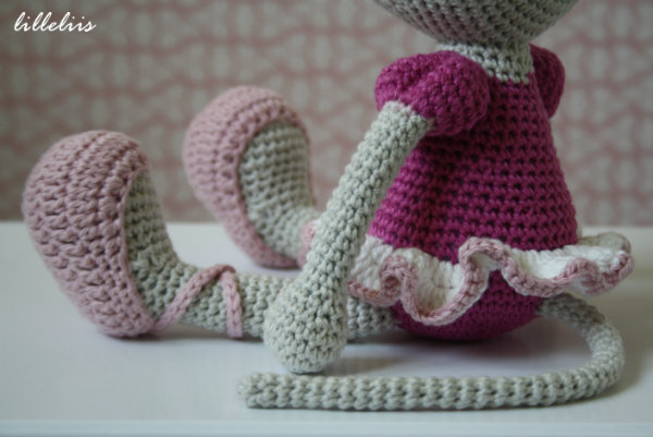 Ballerina mouse pattern in a new version | lilleliis