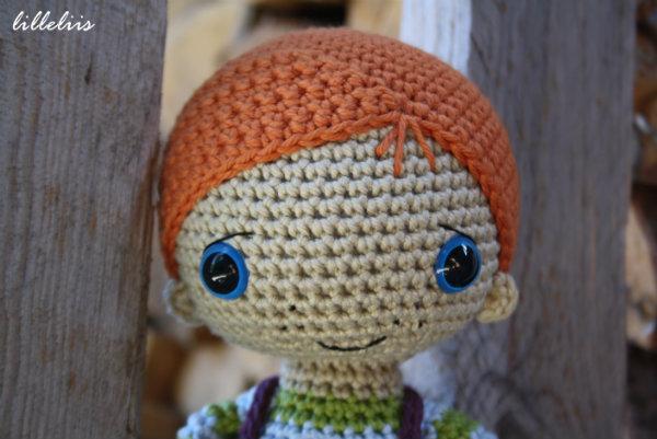 Amigurumi Boy Doll Pattern : Rudy the redhead boy doll pattern lilleliis