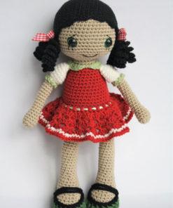 amigurumi pattern anita doll