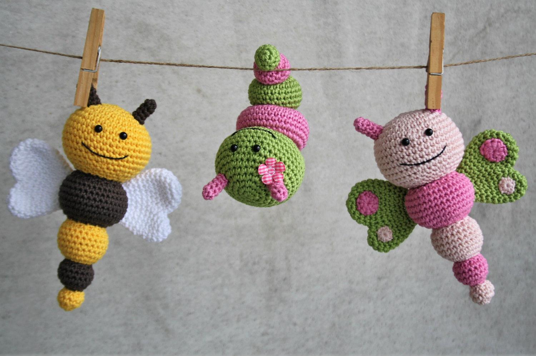 amigurumi bug rattles pattern