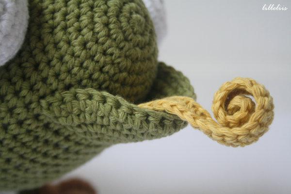 Crochet Amigurumi Chameleon 5 Lilleliis