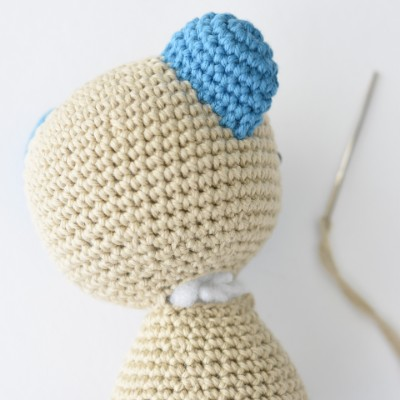 Crochet Amigurumi Doll Tutorial - Sally (Part Free Crochet Doll ... | 400x400