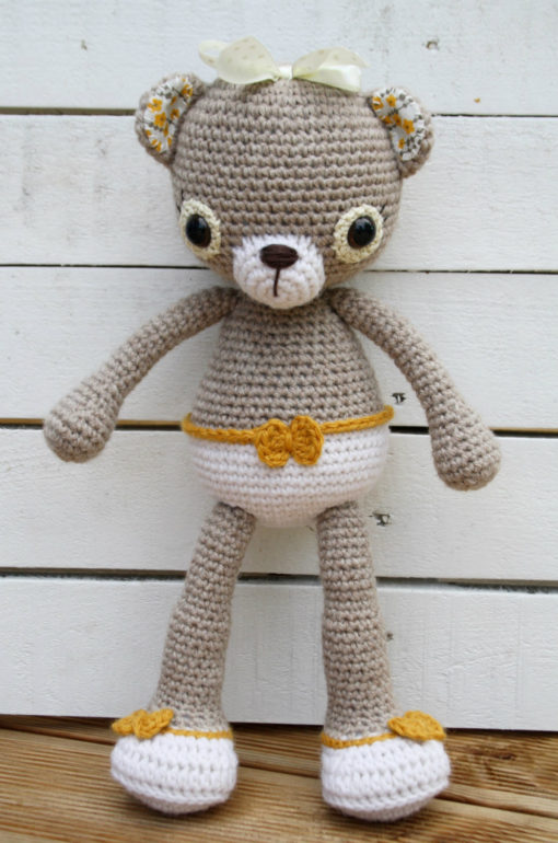 amigurumi teddy bear pattern