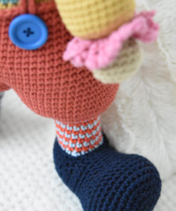 amigurumi pattern chatterbox the clown