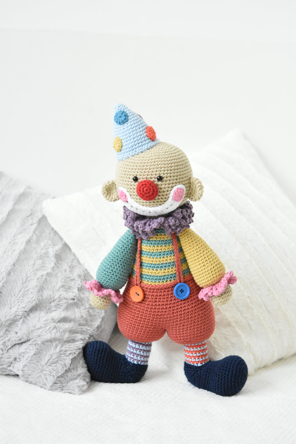 Chatterbox The Clown Amigurumi Crochet Doll Pattern Lilleliis