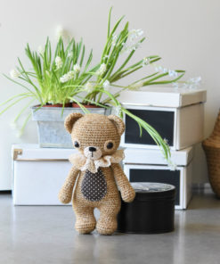 treasure the teddy amigurumi pattern