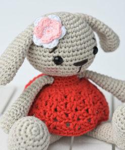 miss bunny amigurumi pattern