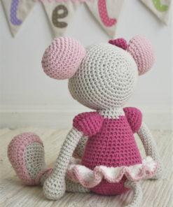 ballerina mouse amigurumi pattern