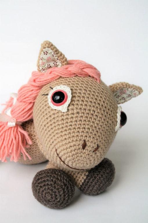 amigurumi crochet pony