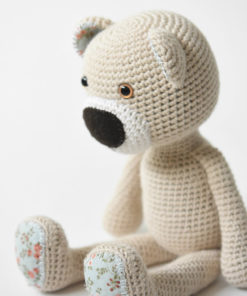 theodor the teddy bear amigurumi pattern