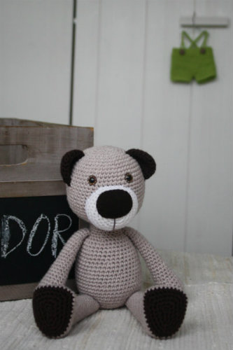 15 Crochet Teddy Bear Patterns | 500x333