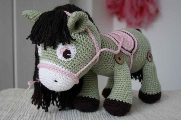 Amigurumi Horse Tutorial : Best amigurumi patterns for sale images