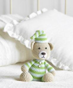 pajamas teddy amigurumi pattern