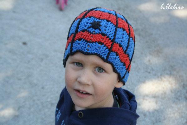Crochet Spiderman Hat Lilleliis
