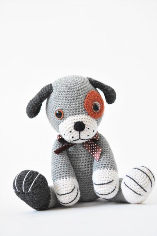 crochet woollen puppy