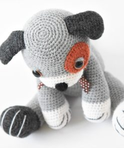 crochet puppy big paws