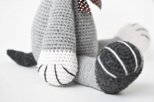 crochet puppy paw