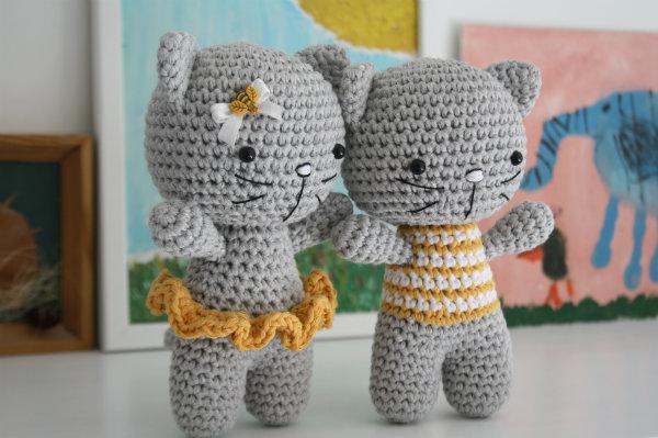 Amigurumi Cat Crochet Pattern | Supergurumi | 399x600