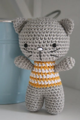 Free crochet cat pattern | Crochet cat pattern, Crochet cat ... | 400x266