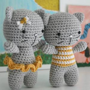 small cat free amigurumi pattern