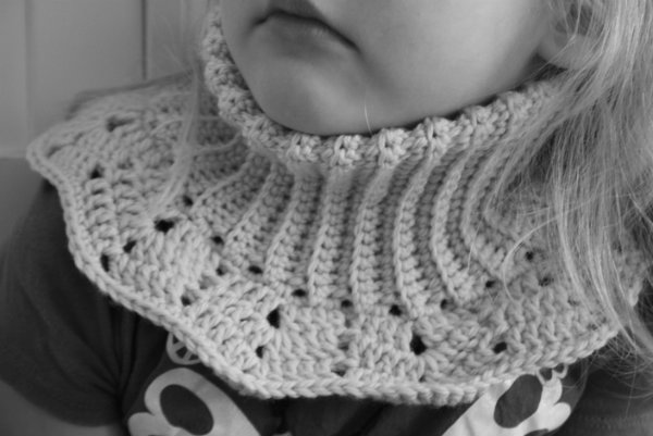 Free Pattern Double Warm Neck Warmer Lilleliis