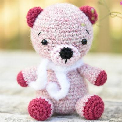 free amigurumi pattern alpaca teddy bear