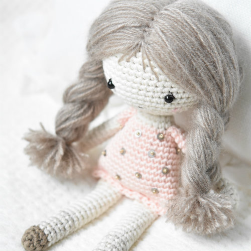 Little angel doll | Amigurumi crochet pattern | lilleliis