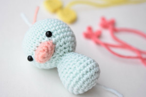 Little amigurumi easter duck (3)