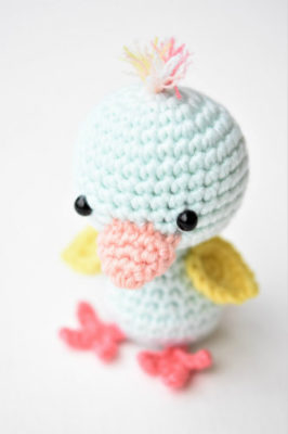 amigurumi chicken duck free pattern (4)