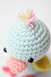 amigurumi chicken duck free pattern (5)