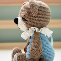 button jointed teddy bear (3)