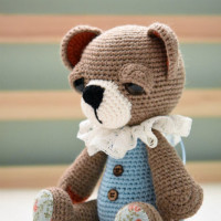 button jointed teddy bear (4)