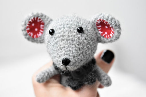 amigurumi pattern little mouse rat