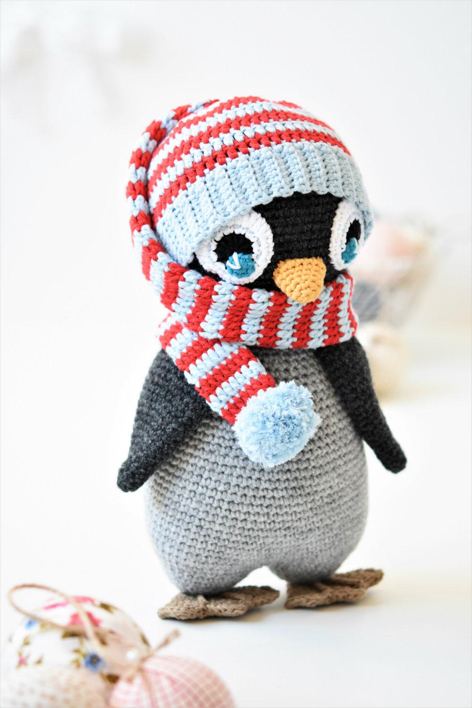 Baby Penguin Amigurumi Toy Crochet Pattern | Crochet penguin ... | 1500x1000