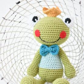 amigurumi frog prince princess (1)