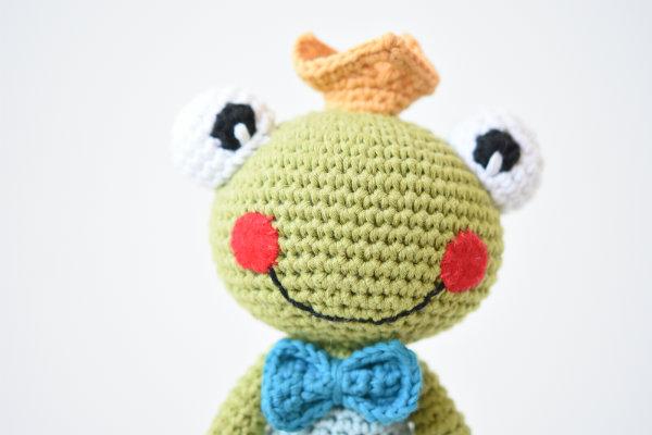 amigurumi frog prince princess (2)