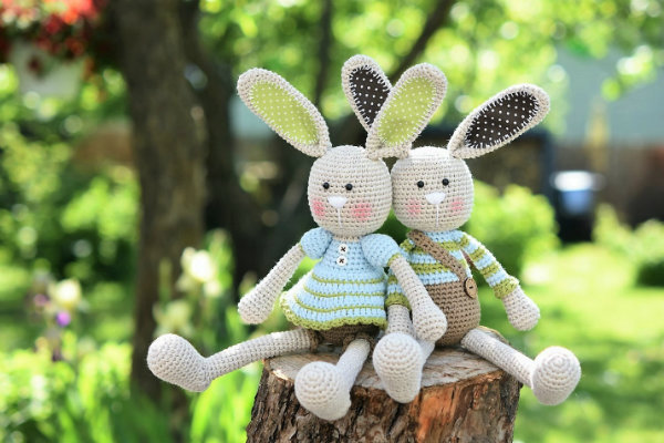 Mabel Bunny and Co Book by Wool Couture | 400x600