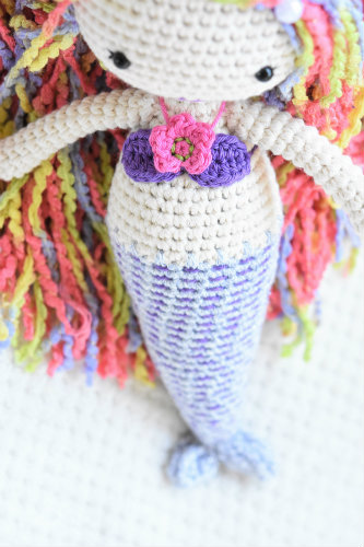 amigurumi crochet mermaid doll (2)