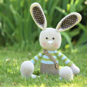 long ear rabbit amigurumi pattern (1)